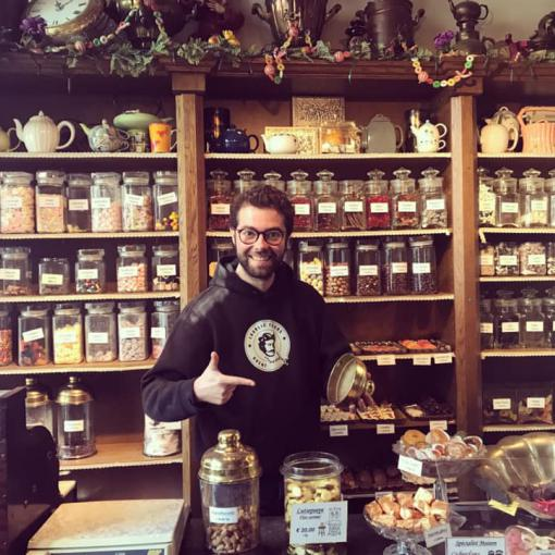 Candy Shop Tour Ghent Gids Rondleiding