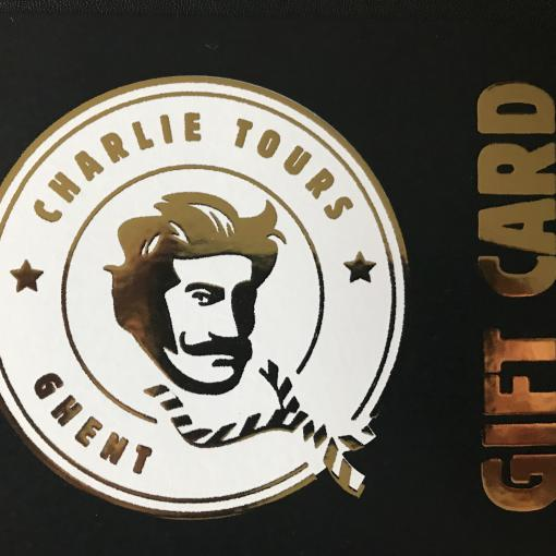 GIFT CARD CHARLIE TOURS